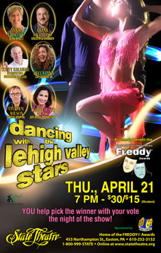 DANCING WITH THE LEHIGH VALLEY STARS