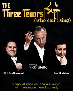 THE THREE TENORS ( WHO CAN'T SING)
