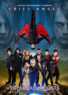 CRISS ANGEL'S THE SUPERNATURALISTS™