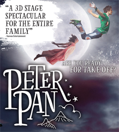 PETER PAN THE 3D NEVERLAND EXPERIENCE