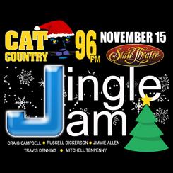 CAT COUNTRY 96 JINGLE JAM