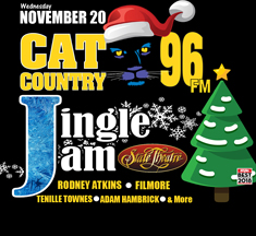 CAT COUNTRY 96 JINGLE JAM